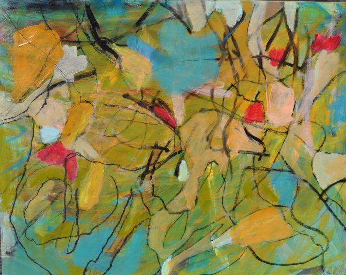"""""""Flowers"""" (80x100)"""