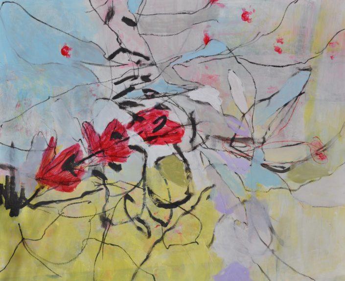 """Kirschblüte"" (100x80)"