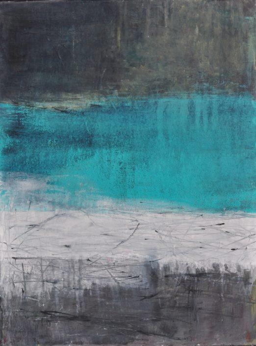 """""""Uferzone"""" (60x80)"""